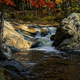 Mark Myhaver - Stream In Autumn No.17