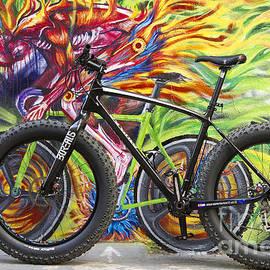Bryan Keil - Street graffiti rider