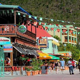 Laurel Talabere - Street Scene in Philipsburg St. Maarten