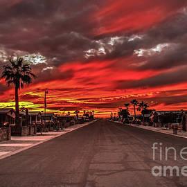 Robert Bales - Street Sunset