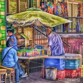 Arnie Goldstein - Street Vendor