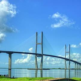 Striking Sidney Lanier Bridge Brunswick Georgia