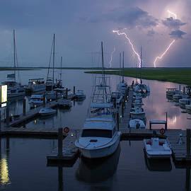 Reid Callaway - Striking Tybee Island Lightning