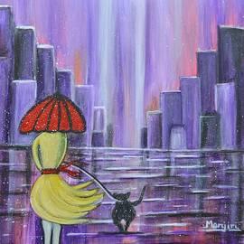 Manjiri Kanvinde - Stroll in the purple rain