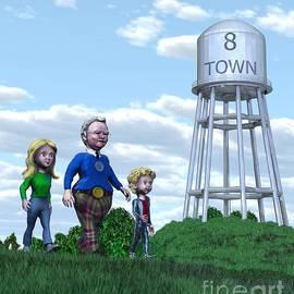 Dave Luebbert - Strolling Through 8 Town