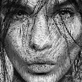 Rafael Salazar - Studio Portrait in Pencil 36