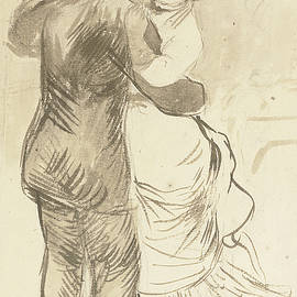 Study for Countryside Dance - Pierre Auguste Renoir