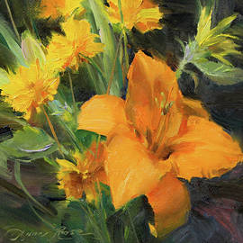 Study in Yellow - Anna Rose Bain
