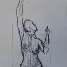 Myke  Irving - Study of a figure