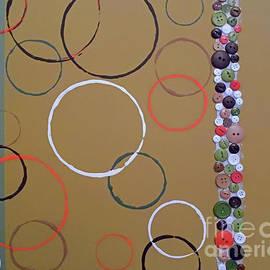 Jilian Cramb - AMothersFineArt - Suede Circles