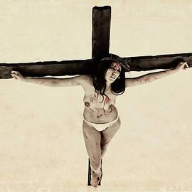 Ramon Martinez - Suffering of a woman on cross