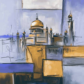 Sultan Omer Ali Saifuddin Mosque - Mawra Tahreem