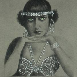 Jayne Somogy - Sultry Silent Star -- Portrait of Silent Film Star