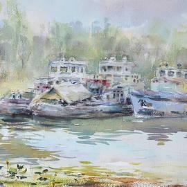Tatsiana Harbacheuskaya - Summer boats