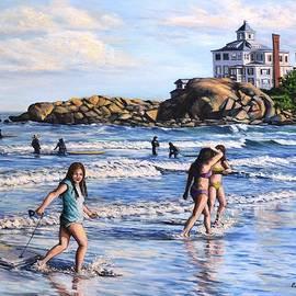 Eileen Patten Oliver - Summer Evening Good Harbor Beach