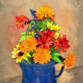 Mary Timman - Summer Flowers
