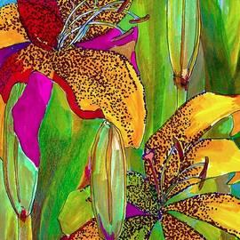Claudia Smaletz - Summer lilies