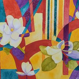 Nancy Jolley - Summer Magnolias