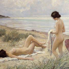 Paul Fischer - Summer on the Beach