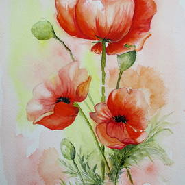 April McCarthy-Braca - Summer Poppies