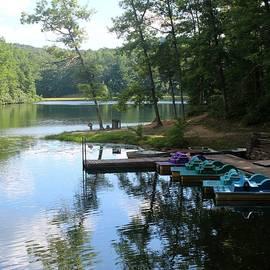 Beverly Canterbury - Summer Reflection on Boley Lake