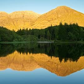Stephen Taylor - Summer reflections in Glencoe