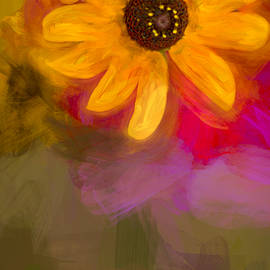 F Leblanc - Summer Sunshine - Painting 2 by fleblanc