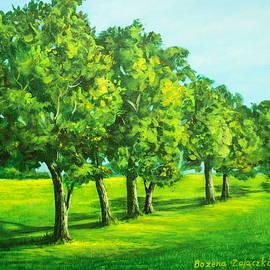 Bozena Zajaczkowska - Summer Trees