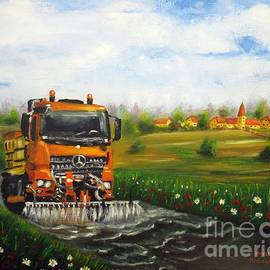 Vesna Martinjak - Summer washer road