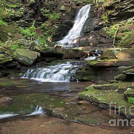 John Stephens - Summer Waterfall Cascade