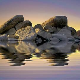 Maria Coulson - Sun Bathed Rocks