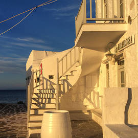 Colette V Hera  Guggenheim  - Sun Set on Paros Island Greece