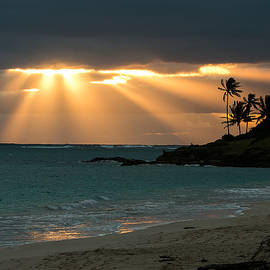 E Faithe Lester - Sunburst at Kailua