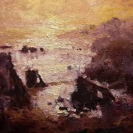 R W Goetting - Sunburst on Shell Beach