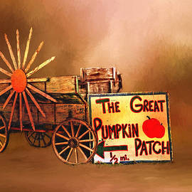 Theresa Campbell - SunCart And Pumpkin Patch Sign