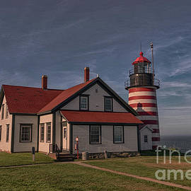 Mike Griffiths - Sundown at West Quoddy Light