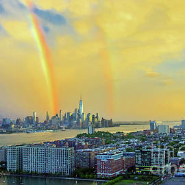 Regina Geoghan - Sundown Double Rainbow NYC-NJ