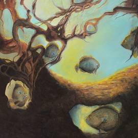Kimberly Benedict - Sunfish in Tree Roots