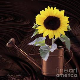 Linda Troski - Sunflower Copper Watering Can