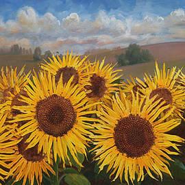 Sandra Quintus - Sunflower Crowd