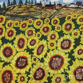 Jeffrey Koss - Sunflower Fields  Forever