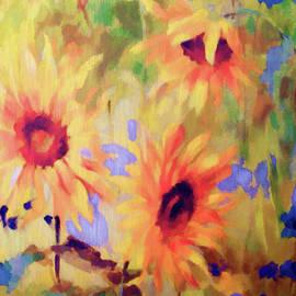 Sandi OReilly - Sunflower Joy Watercolor
