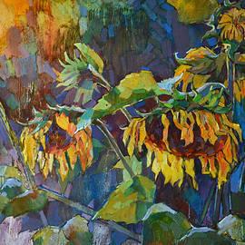 Sergey Avdeev - Sunflowers after rain