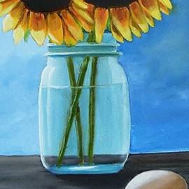 Janet Guss - Sunflowers And Eggs