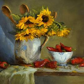 Viktoria K Majestic - Sunflowers and Paprika