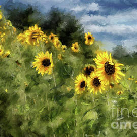 Lois Bryan - Sunflowers Bowing And Waving