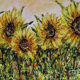 Dariusz Orszulik - Sunflowers