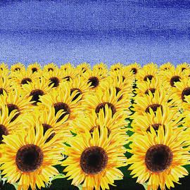 Irina Sztukowski - Sunflowers Field