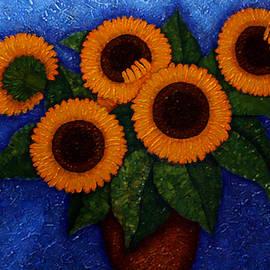 Madalena Lobao-Tello - Sunflowers of my hope II