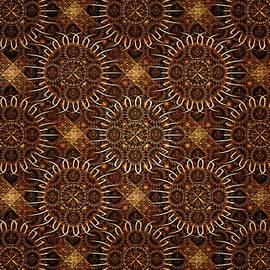 Anastasiya Malakhova - Sunflowers - Pattern - Fractal